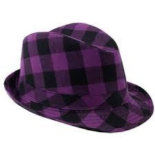 Image result for purple hats fedora