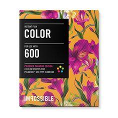 Impossible - 3289 - pellicule couleur pour Appareil Polaroid type 600 - cadre motif floral Fushia- 8 feuilles par boîte Impossible http://www.amazon.fr/dp/B00LSYFEH6/ref=cm_sw_r_pi_dp_KGMVvb0P0E66Z