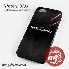 The Wolverine Phone case for iPhone 4/4s/5/5c/5s/6/6 plus