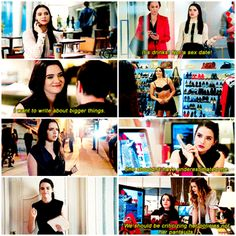 """#TheBoldType 1x03 """"The Woman Behind the Clothes"""" - Jane"""