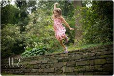 Run and Jump Playing Shots | Swarthmore, PA Family Photographer | Creative Children's Photographer