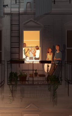 Pascal Campion -Summer nights in the city...with friends.