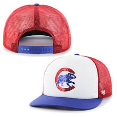Get this Chicago Cubs Ladies Glimmer Snapback Adjustable Cap at WrigleyvilleSports.com