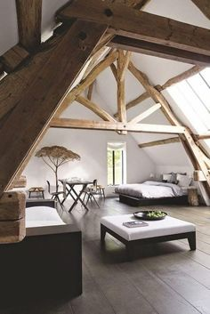 The room is space of the house that has a particular part in turning into a component of the interior home. It ought not to be too stark in decorating a room as it is for sure that you will wind up… Attic Renovation, Attic Remodel, House Renovations, Attic Rooms, Attic Bathroom, Attic Apartment, Attic Playroom, Apartment Ideas, Remodel Bathroom