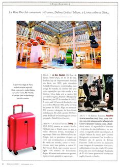 Robb Report (Brazil) #suitcase #travel #Delsey