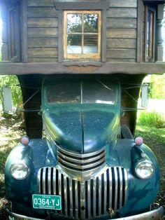 Old RV belonged to writer Frank Waters
