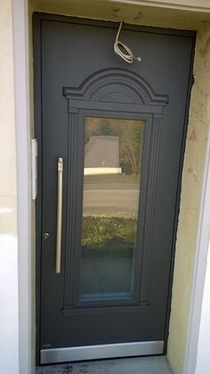 #door #entrance #aluminium #turen #pirnar Contemporary, Modern, Closets, Entrance, Sweet Home, Windows, Doors, Interior Design, Luxury
