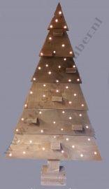 Steigerhouten kerstboom 137 cm