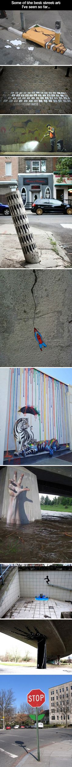 OakOak has produced some of the coolest and geekiest street art yet, here are a few examples of his work.