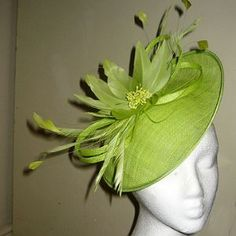 Lime Wedding Hatinator - wish we had a wedding to go to. 4bfd4cda64c