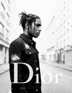 ASAP Rocky - Dior Homme Spring 2017 by Willy Vanderperre