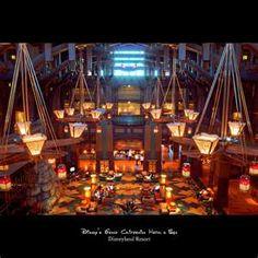 Stay at Disney's Grand Californian Hotel and Spa, Disneyland, Anaheim, California