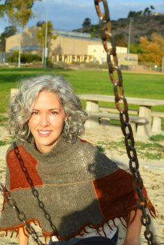 Sara Davis-Eisenman silver hair