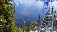 Up Sulphur Mountain