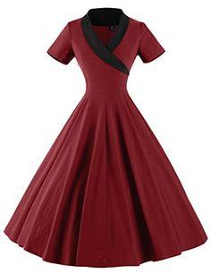 GownTown Women's 1950s Retro Vintage Short Sleeve Party S... https://www.amazon.com/dp/B06XPCSNKK/ref=cm_sw_r_pi_dp_x_Y1s0ybG8MBT8D