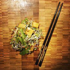GROSZEK CUKROWY Z ANANASEM • Zając kica w kuchni