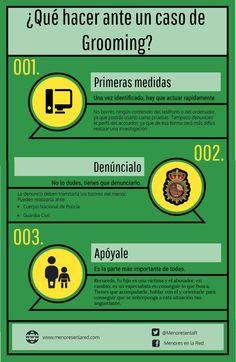 Qué hacer en caso de Grooming #infografia #infographic