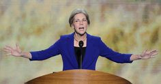 """Elizabeth Warren to Obama Administration: Take the Banks to Court, Already!   """"If you're caught with an ounce of cocaine, you're going to go to jail,"""" Warren said. """"But if you launder nearly $1 billion for international cartels...you go home."""""""