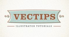 A collection of over 30 type tutorials for Adobe Illustrator.