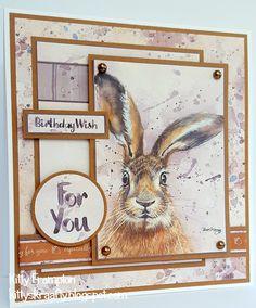 Made using My Craft Studio Wondrous Wildlife CD Rom.