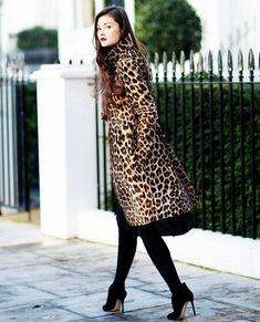 Leopardenprint. Modekleidung und ihre Kombination | Mode