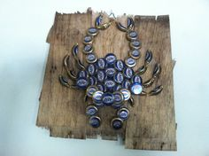 Beer Bottle Cap Crab by BottleCapCrabs on Etsy, $50.00