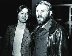 Letzte Rolle: McQueen und seine Frau Barbara 1980 bei ihrem einzigen...
