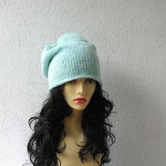 Hey, I found this really awesome Etsy listing at https://www.etsy.com/listing/155883373/mint-slouchy-beanie-slouchy-beanie