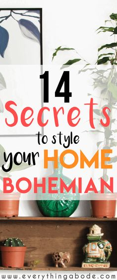 How to style your home bohemian. Have you always loved the BOHO look? Well if so. Here are 14 designer secrets for styling a bohemian home like no other. bohemian color scheme, new bohemian style, g Bohemian House, Bohemian Living, Boho Home, Bohemian Furniture, Bohemian Bedroom Decor, Bohemian Style Bedrooms, Bohemian Decorating, Bohemian Curtains, Bohemian Chic Decor