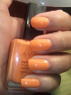 Avon Orange Creamsicle- Gorgeous!