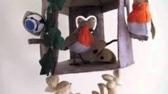 Mus, pimpelmees en koolmees komen graag op bezoek bij Voederhuis met roodborstjes ©Septemberspring.nl