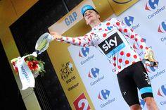 Tour de France 2015. Gap. Chris Froome meilleur grimpeur au pied des Alpes et à Paris. © Photo Pat.Domeyne/Juillet 2015
