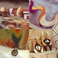 5 marcas brasileiras que transformam madeira descartada em fantásticas joias sustentáveis e com design contemporâneo - Follow the Colours
