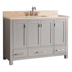 Make Photo Gallery Avanity MODERO VS CG Modero in Single Bathroom Vanity Without Top