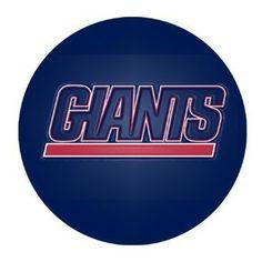 Amazon.com: Custom New York Giants Round Mouse Pad ($4.99)