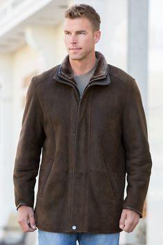 Highlands Tuscan Merino Shearling Sheepskin Coat | Coats, Spanish ...