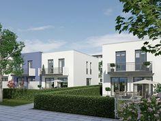 Immobilie Mein Aubing 3 - Illustration Reihenhäuser
