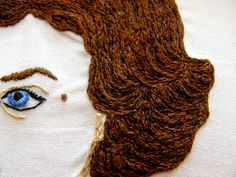 Audrey Hair Detail by childrenplayingwithfire, via Flickr