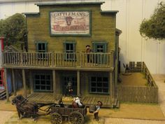 Wargaming Buildings: Cattlemans building and Dressmakers/laundry