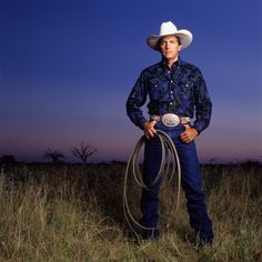 "Native son of Texas and the ""King of Country"" – George Strait.  Photo by Michael O'Brien"