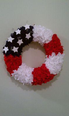4th of July Wreath