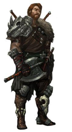 Warrior, viking, skald, barbarian, fighter