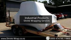 #Industrial #ShrinkWrapping Services When it comes to protecting your industrial products and the people who handle them, nothing beats our industrial strength shrink packaging services. Heavy items, items with sharp corners or rough edges, and large irregular items require careful handling and appropriate packaging. Our industrial shrink services can meet your packaging needs. http://shrink-wrap.co.nz/services/transport_storage