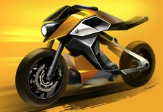 student work Motorbike Parts, Motorbike Design, Bike Sketch, Car Sketch, Moto Bike, Motorcycle Bike, Concept Motorcycles, Bike Details, Industrial Design Sketch