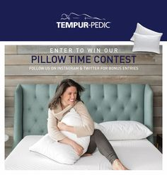 Enter to #WIN a TEMPUR-Cloud Soft & Conforming Pillow, a TEMPUR-Contour Side-to-Side Pillow or a #TempurPedic Classic Essential #Pillow #free valued at over $230! Courtesy of: #tempurpediccanada Enter at http://woobox.com/cqsw2a/Imk8uv #Contest ends March 15th, #2017 at 11:59pm EST. #Giveaway open to legal residents of #Canada only (excluding Yukon & Northwest Territories) who are 21 yrs of age or older.  #MoreThanMemoryFoam #TempurLove #prize #mattresses #beds #furniture #homedecor