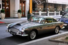 Aston Martin DB4 - better looking than the DB5 in my opinion.