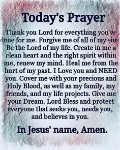 This is truly my prayer Father God! Prayer Times, Prayer Scriptures, Bible Prayers, Faith Prayer, Catholic Prayers, God Prayer, Prayer Quotes, Power Of Prayer, Faith Quotes