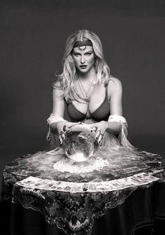 z- Bar Refaeli w Crystal Ball ('Passionata' Lingerie-Swimsuits- Fall Winter, 2013) (B&W)