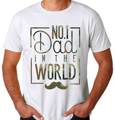 CAMO Father's Day Shirt Dad T-shirt BRAND NEW! -FREE SHIPPING- Camouflage #Camo #FathersDay