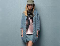 Le long gilet - Craquez pour nos modèles faciles à tricoter - Femme Actuelle#article#article#article